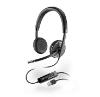 Softphone met USB headset (2-oors)